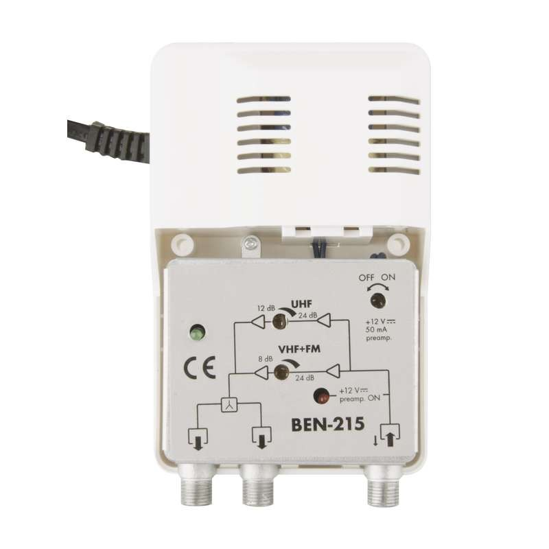Amplificator interior 860MHz/26dB 1 intrare 2 iesiri