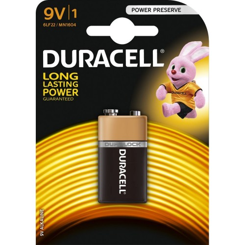 Baterie alcalina 6LR61 (9V) MN1604 Duracell Basic