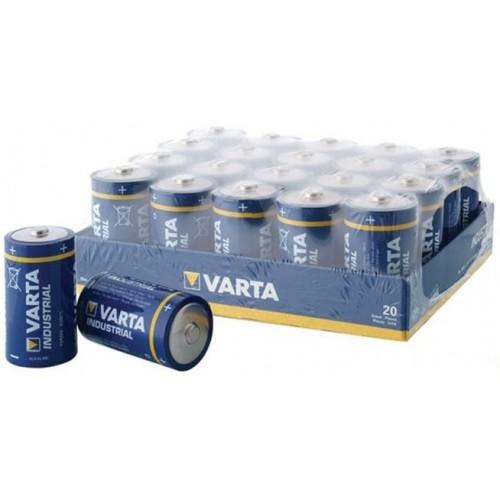 Baterie alcalina Mono (D,R20) 1,5V 4020 Varta Industrial