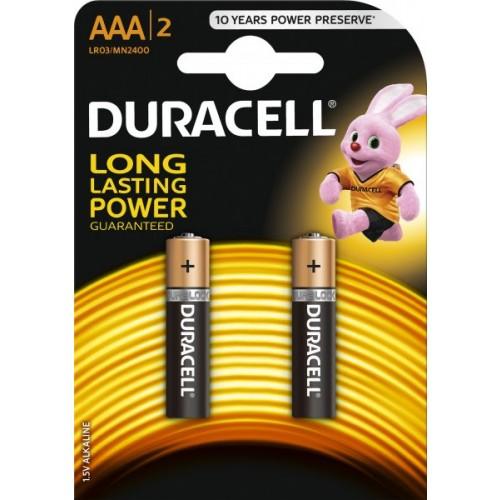 Baterie alcalina Micro (AAA,R03) MN2400 Duracell Basic - blister 2