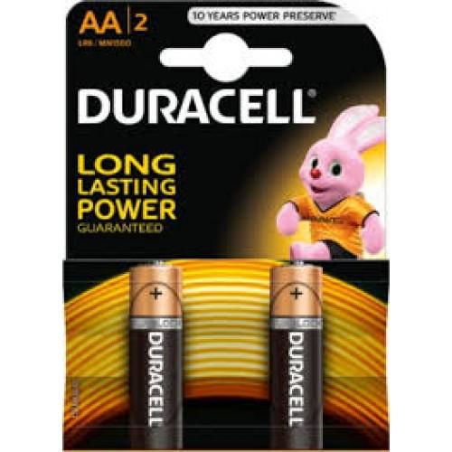 Baterie alcalina Mignon (AA,R6) MN1500 Duracell Basic - blister 2