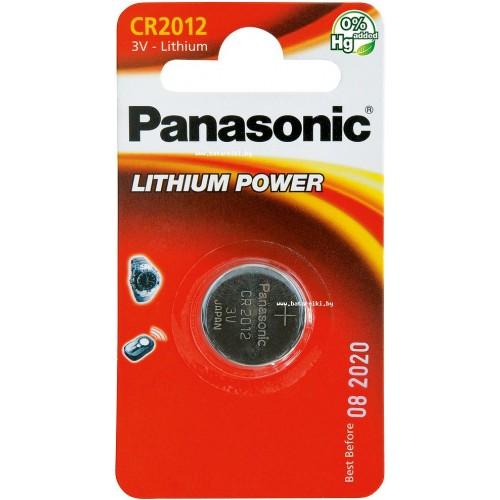 Baterie buton litiu CR2012 Panasonic