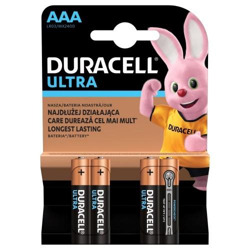 Baterie alcalina Micro (AAA,R03) MX2400 Duracell Ultra