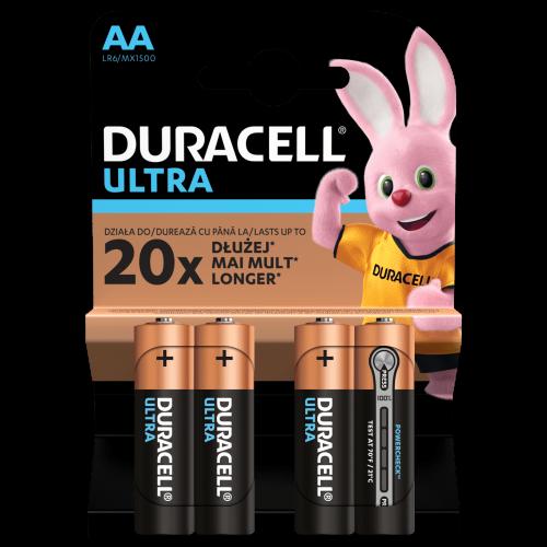 Baterie alcalina Mignon (AA,R6) MX1500 Duracell Ultra