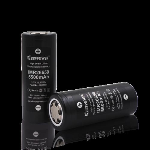 >Acumulator Li-ion 3.7V 5500mAh KeepPower 26650