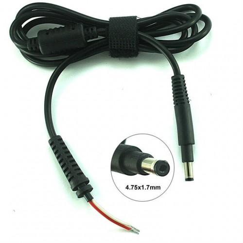 Cablu alimentare DC pentru notebook/laptop HP Ultrabook cu mufa 4,8x1,7mm 1,2m 90W