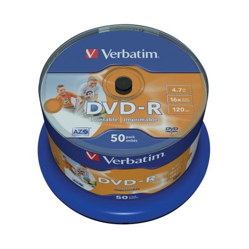 DVD-R Verbatim printabil