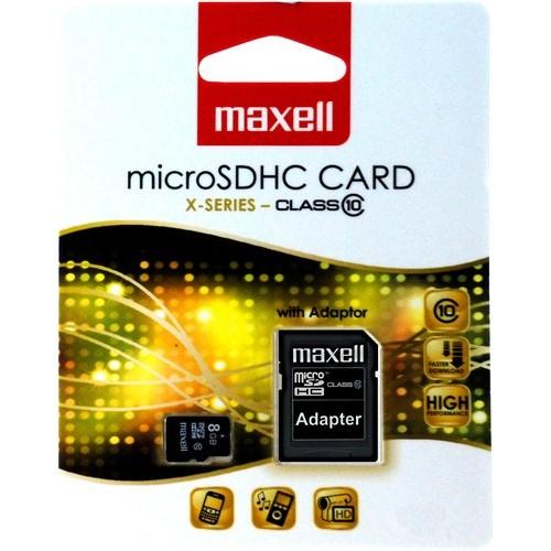 Card memorie 8GB microSDHC cu adaptor pentru SD