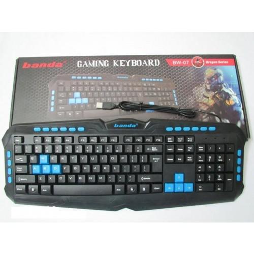Tastatura USB gaming Banda BW-07