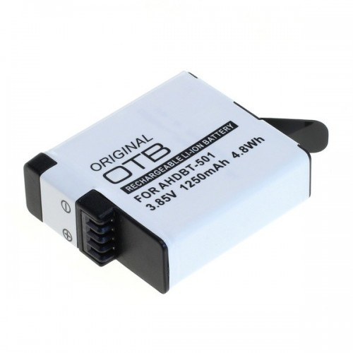 Acumulator Li-ion 3.8V compatibil GoPro Hero5 Black, GoPro Hero6 Black si GoPro Hero7 Black