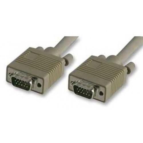 Cablu monitor 1,8m VGA tata la VGA tata