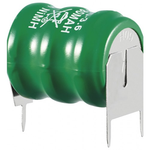 Acumulator Ni-MH Back-up 3,6V 60 mAh cu terminale pentru lipire