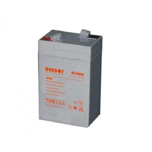 Acumulator plumb acid RedDot 6V 4Ah (Faston 187 - 4,8mm)