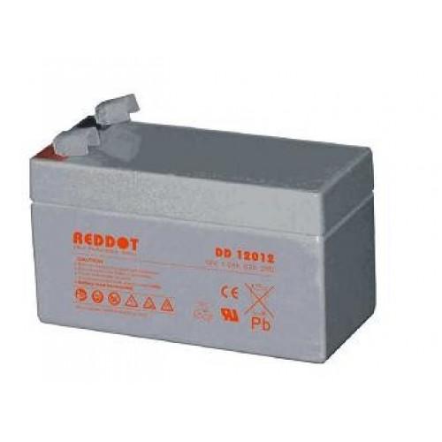 Acumulator plumb acid RedDot 12V 1,2Ah (Faston 187 - 4,8mm)