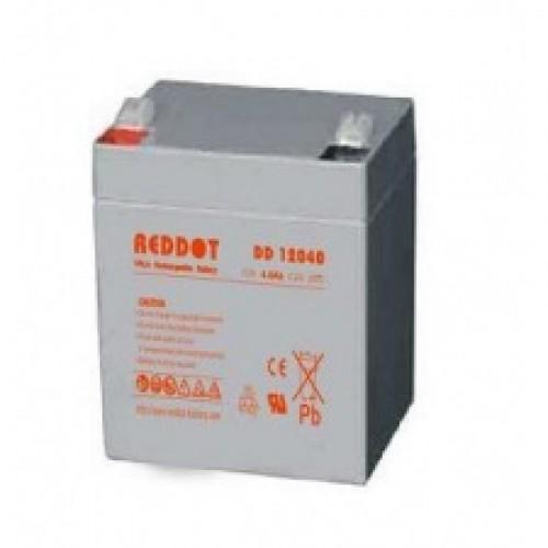 Acumulator plumb acid RedDot 12V 4Ah (Faston 187-4.8mm)