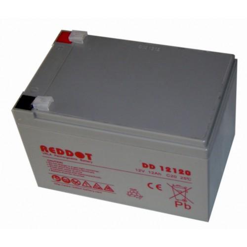 Acumulator plumb acid RedDot 12V 12Ah (Faston 230 - 6,4mm)