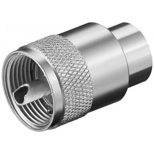 Mufa UHF tata pentru RG213U maxim 10mm