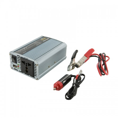 Invertor de la 12V DC la 230V AC 350W, unda sinus modulat