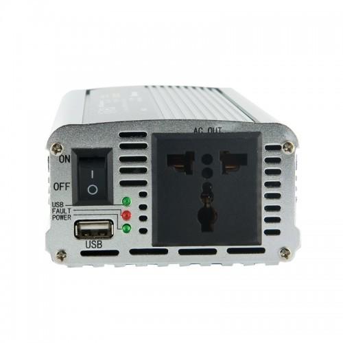 Invertor de la 24V DC la 230V AC 350W, unda sinus modulat