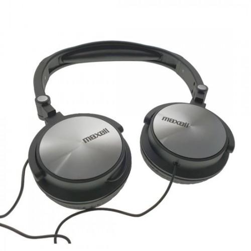 Casca audio pliabila Maxell 3,5mm stereo plug, cablu 1m