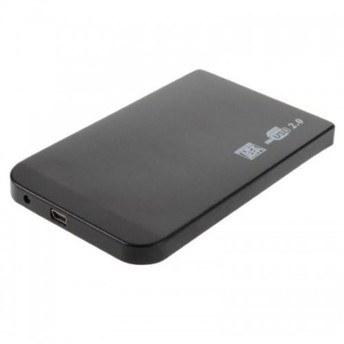 """Carcasa (rack) metalica pentru HDD 2.5"""" SATA cu port mini USB 2.0"""