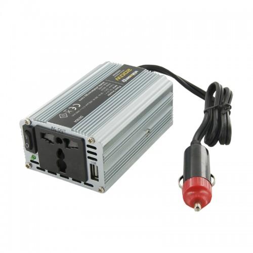 Invertor de la 12V DC la 230V AC 200W, unda sinus modulat