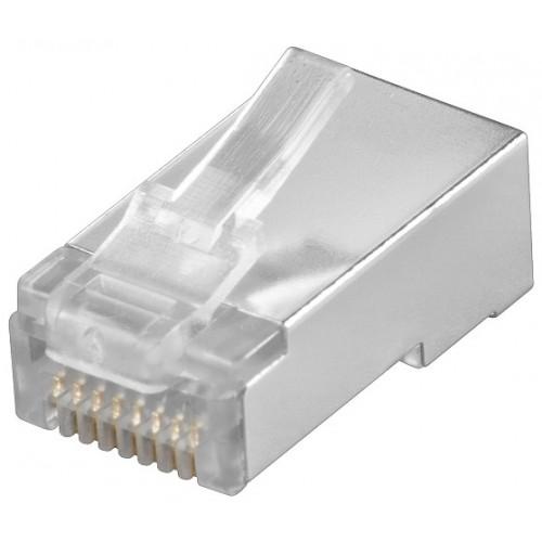 Mufa UTP CAT5 RJ45 (8P8C) ecranat pentru cablu rotund