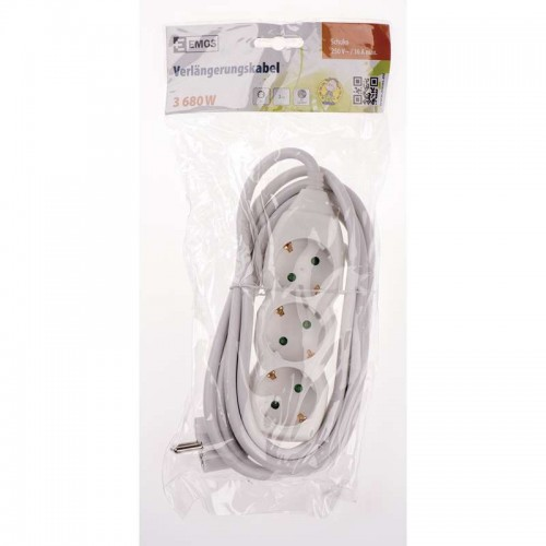 Prelungitor electric 3 prize 3 metri 3680W 16A