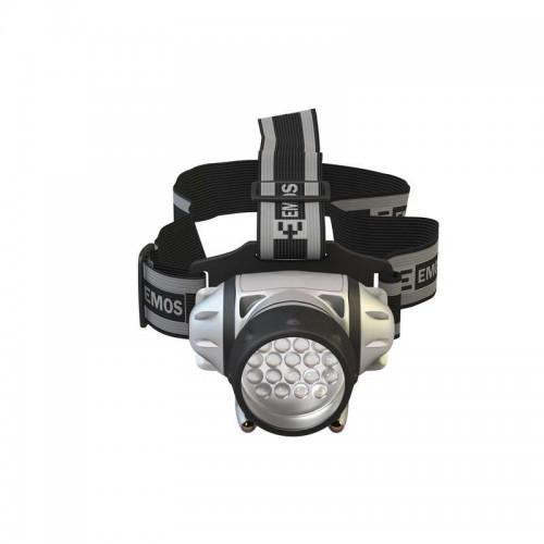 Lanterna pentru cap cu 18+2 x 5mm LED alimentare 3x R03, lungime fascicol: 23m