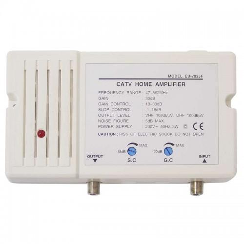aplificatotor CATV 30dB cu cale inversa