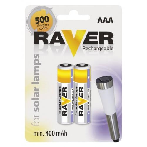 Acumularor R3(AAA) pentru lampi solare Raver