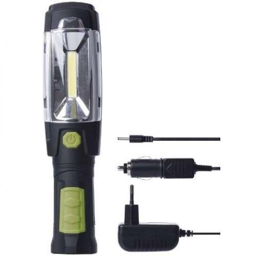 Lanterna de lucru cu acumulator 3.7V/2500mAh, COB+6 LED