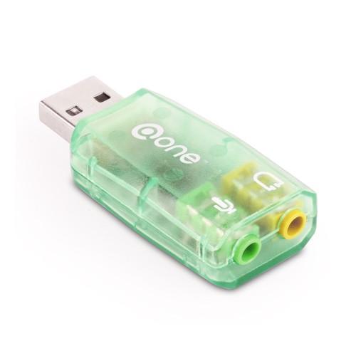 Placa sunet USB 2.0, A tata la 2 x 3,5mm stereo jack