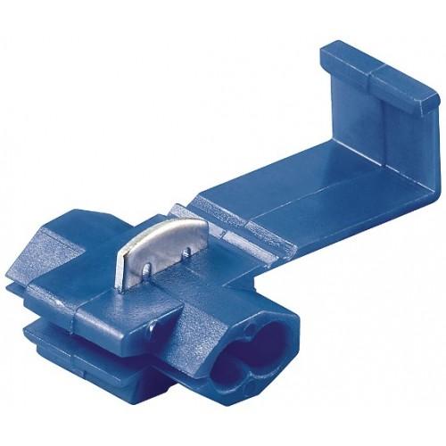 Conector rapid pentru cabluri 1,5-2,5mm², albastru