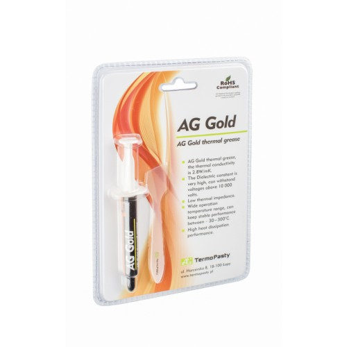 Pasta termoconductoare AG Gold 3gr