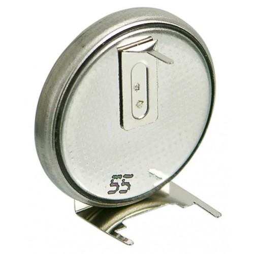 Baterie buton litiu CR2032 versiune orizontala cu terminale de imprimare