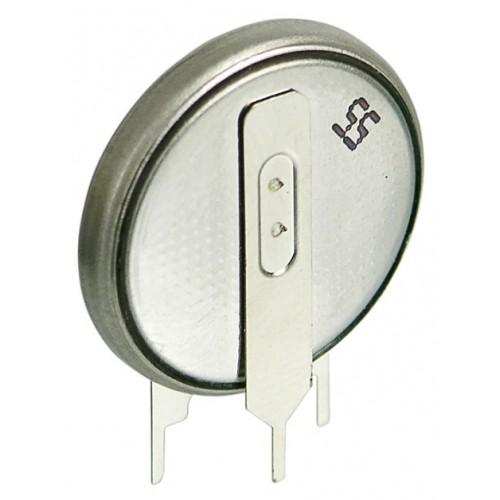 Baterie buton litiu CR2032 versiune vericala cu terminale de imprimare