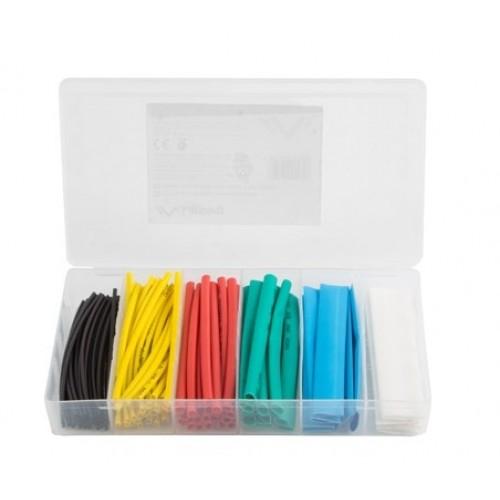 Kit tub termocontractabil 2:1, multicolor, 10cm