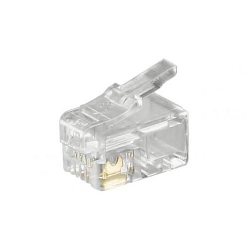 Mufa RJ10 (4P4C) pentru cablu plat