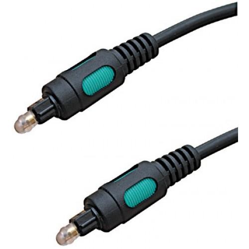 Cablu optic 2m TOSLINK tata la TOSLINK tata