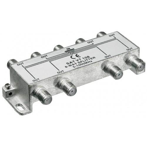 Distribuitor (spliter) CATV interior,8 iesiri, 5-1000MHz
