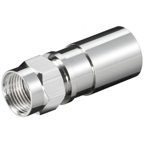 Mufa F tata tip compresie pentru cablu cu exterior pana la 8.2mm