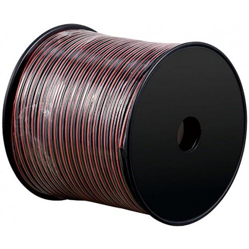 Cablu difuzor CCA rosu/negru, 2 x 0,75mm²
